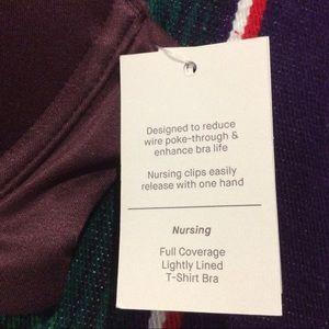 Auden Intimates & Sleepwear - AUDEN WOMEN'S NURSING LIGHTLY LINED WIRE FREE BRA.
